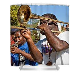 All That Jazz Shower Curtain by Steve Harrington