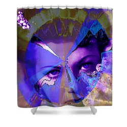 Allure Shower Curtain by Seth Weaver