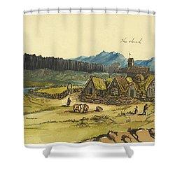 Almanna Gorge Circa 1862 Shower Curtain by Aged Pixel
