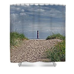 Almost There Shower Curtain by Skip Willits