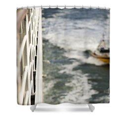 Alongside Shower Curtain by Anne Gilbert