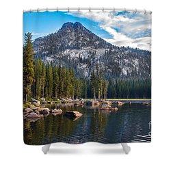 Alpine Beauty Shower Curtain by Robert Bales