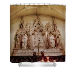 Altar Shower Curtain by Susan Candelario