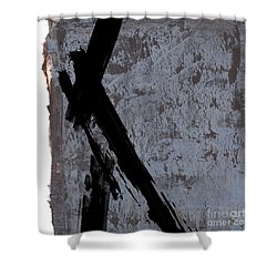 Alternative Edge I Shower Curtain by Paul Davenport