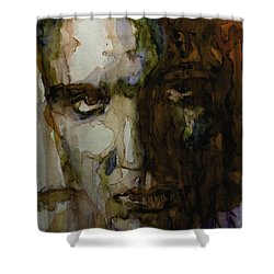 Always On My Mind Shower Curtain by Paul Lovering