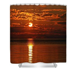 Amazing Sunset Shower Curtain by Aimee L Maher Photography and Art Visit ALMGallerydotcom