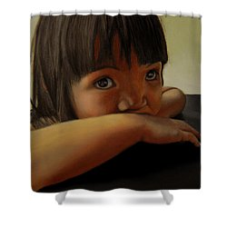 Amelie-an 7 Shower Curtain by Thu Nguyen