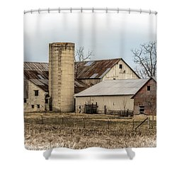 Amish Farm In Etheridge Tennessee Usa Shower Curtain by Kathy Clark