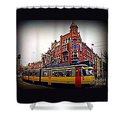 Amsterdam Transportation Shower Curtain by John Malone