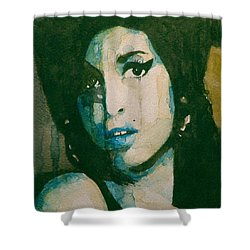 Amy Shower Curtain by Paul Lovering