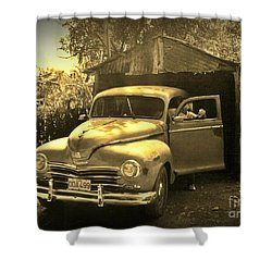 An Old Hidden Gem Shower Curtain by John Malone