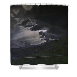 An Opening Shower Curtain by Thu Nguyen