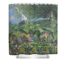 An Unexpected Adventure.the Story Begins. Shower Curtain by Joe  Gilronan