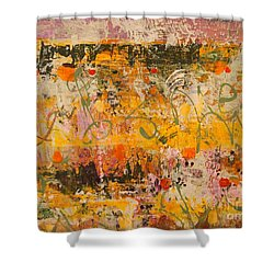 Ancient Gardens 4 Shower Curtain by Nancy Kane Chapman