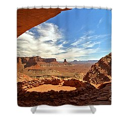 Ancient Life Elevated Shower Curtain by Adam Jewell