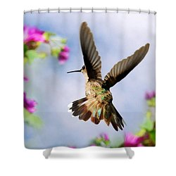 Angel Wings  Shower Curtain by Christina Rollo