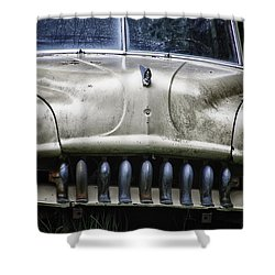 Angry Shower Curtain by Joan Carroll