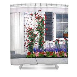 Anniversary Shower Curtain by Richard Rooker