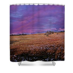 Another Day Shower Curtain by Barbara S Nickerson