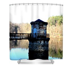 Antietam Creek Reading Pa Shower Curtain by Bill Cannon