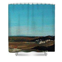 Anza - Borrego Desert Shower Curtain by Joseph Demaree
