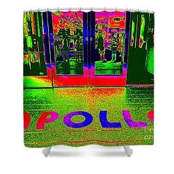 Apollo Pop Shower Curtain by Ed Weidman