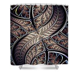 Apophis Shower Curtain by Anastasiya Malakhova