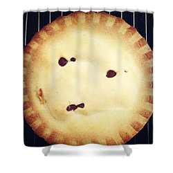Apple Pie Shower Curtain by Les Cunliffe
