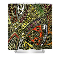 Arabian Nights Shower Curtain by Jolanta Anna Karolska