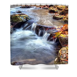 Art For Crohn's Hdr Fall Creek Shower Curtain by Tim Buisman