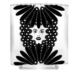 Art Nouveau Design 453 Shower Curtain by Frank Tschakert