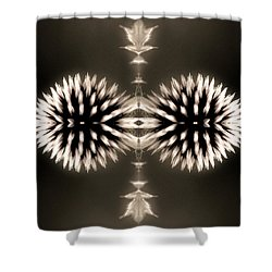Artistic Flower Abstract Shower Curtain by Don Johnson