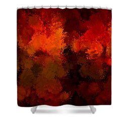 As The Seasons Turn Shower Curtain by Lourry Legarde