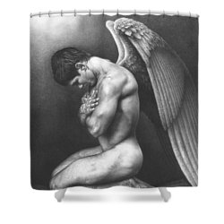 At Peace Shower Curtain by Maciel Cantelmo