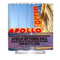 At The Apollo Shower Curtain by Ed Weidman