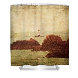 At The Entrance Of The Mont Saint-michel Bay Shower Curtain by Loriental Photography