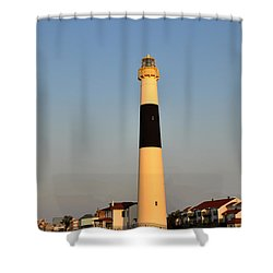 Atlantic City - Absecon Lighthouse Shower Curtain by Bill Cannon