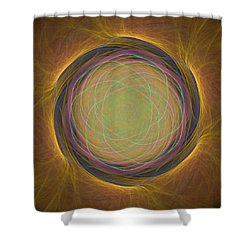 Atome-54 Shower Curtain by RochVanh