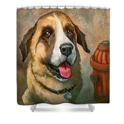 Aubrey Shower Curtain by Sean ODaniels