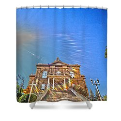 Auburn Courthouse 2 Shower Curtain by Cheryl Young