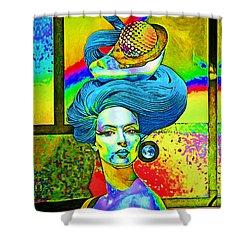 Aurora Shower Curtain by Chuck Staley
