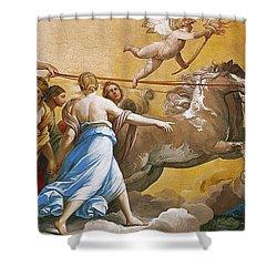 Aurora Shower Curtain by Guido Reni