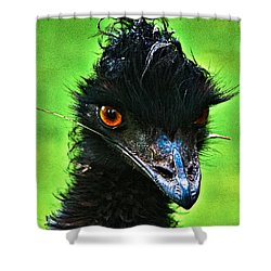 Australian Emu Shower Curtain by Blair Stuart
