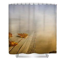Autumn Fog Shower Curtain by Veikko Suikkanen