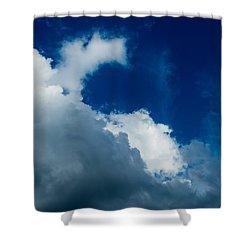 Autumn Skies Shower Curtain by Alexander Senin