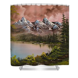 Autumn Storm Shower Curtain by C Steele