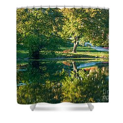 Autumns Beauty Shower Curtain by Optical Playground By MP Ray