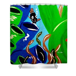Avery Shower Curtain by Tami Dalton