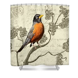 Awaiting Journey Shower Curtain by Lourry Legarde