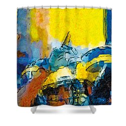 Always Number One Shower Curtain by John Farr